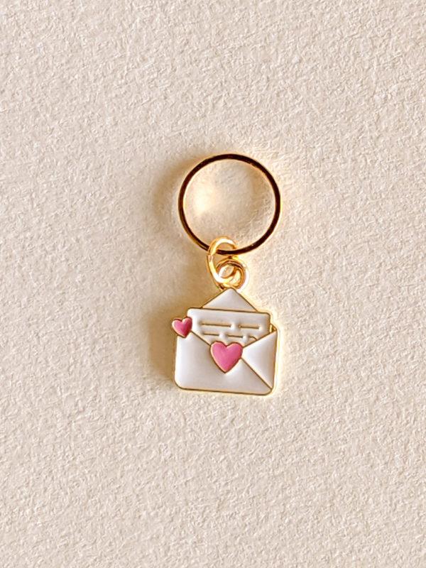 Enveloppe avec petit coeur
