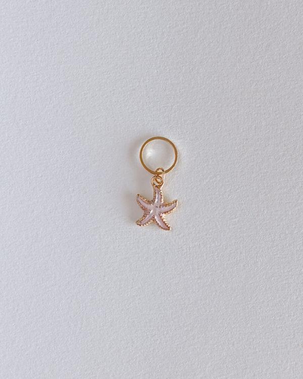 Etoile de mer, rose clair